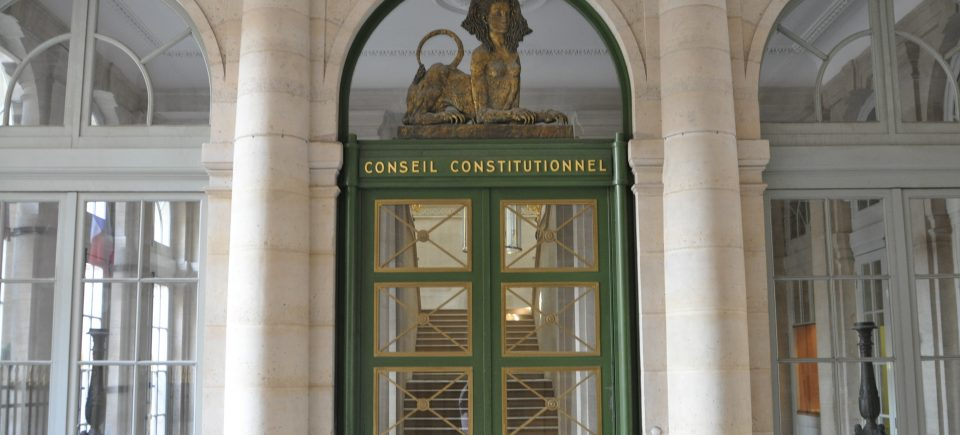 le role du conseil constitutionnel dissertation